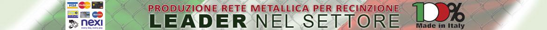 Produzione rete metallica per recinzione - LEADER nel SETTORE
